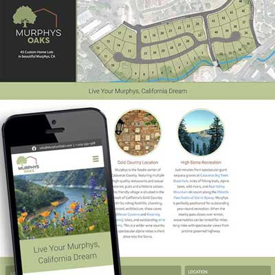 Murphys Oaks website